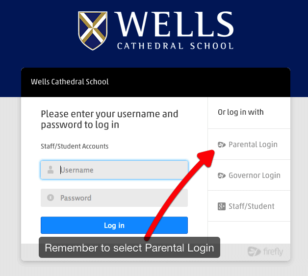 MyWells Login Screen