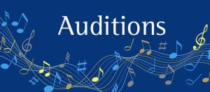 See when our next music auditions are taking place and the deadlines for applying.