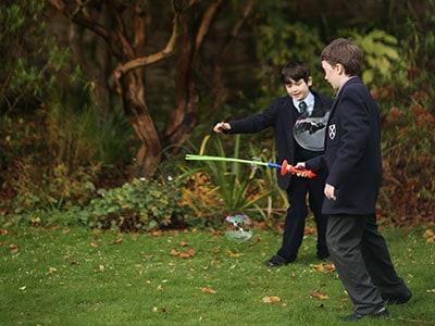 Outdoors Fun for Boarding School Prep Pupils