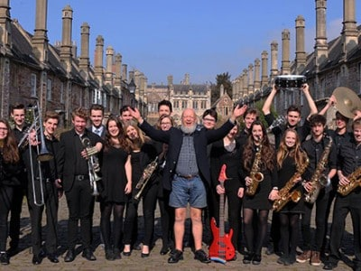 Wells Big Band to Open Glastonbury Extravaganza