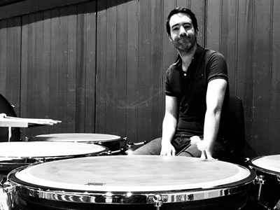 Matt Hardy, Percussion teacher