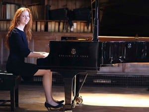 Kirsty, Pianist at Wells Cathedral School