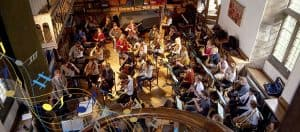 Symphony Orchestra Rehearsal in Wells Cathedral School's Quilter Hall