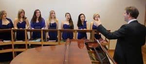 Choralia practising