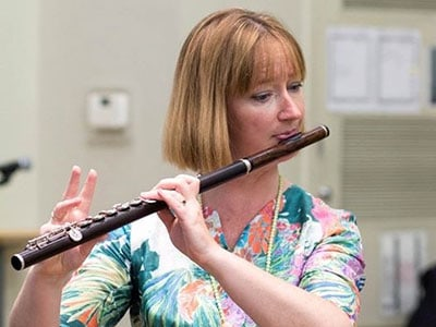 Liz Walker, Flute Teacher at Wells Cathedral School