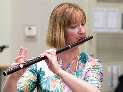 Liz Walker, Flute Teacher at Wells Cathedral School