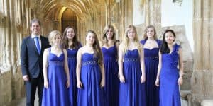 Christopher Finch and Choralia at Wells Cathedral