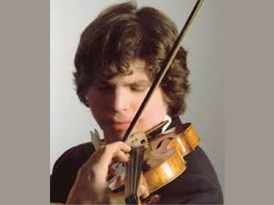 Augustin Haddelich, international violinist