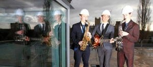 Jazz on Cedars Hall Roof