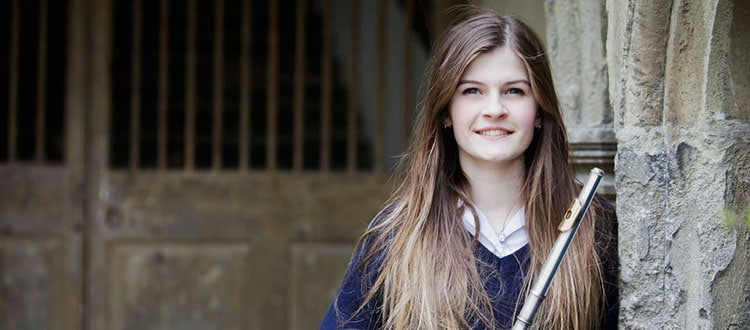 Two awards for flautist Alicia