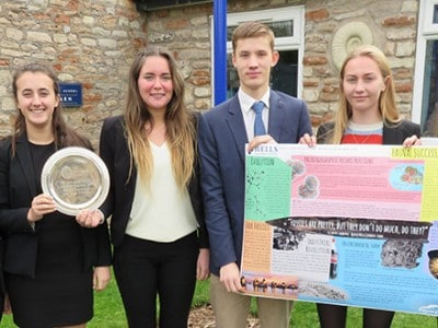 Presentation Prize for Wells Geologists