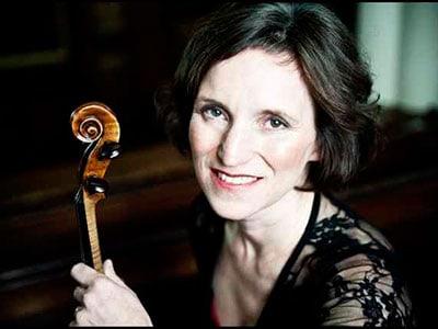 Krysia Osostowicz, violinist