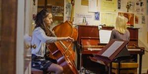 A cello lesson