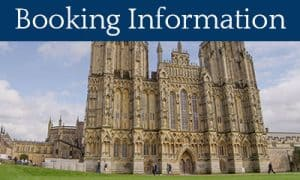Click to see our Booking Information - Photo of Wells Cathedral