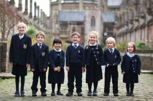 Group of Junior School Pupils at Vicars Close
