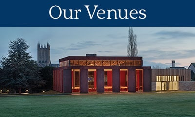 Click to see our Information on our Venues - Photo of Cedars Hall