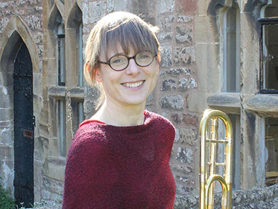 Emily White, Trombone Teacher at Wells Cathedral School