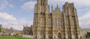 Front of Wells Cathedral