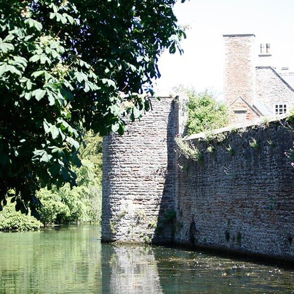 Moat at Bishops Palace
