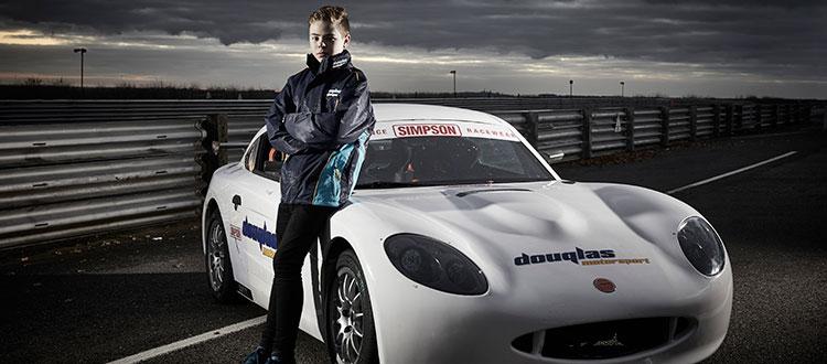 Douglas Motorsport signs Tom for Ginetta Junior Championship