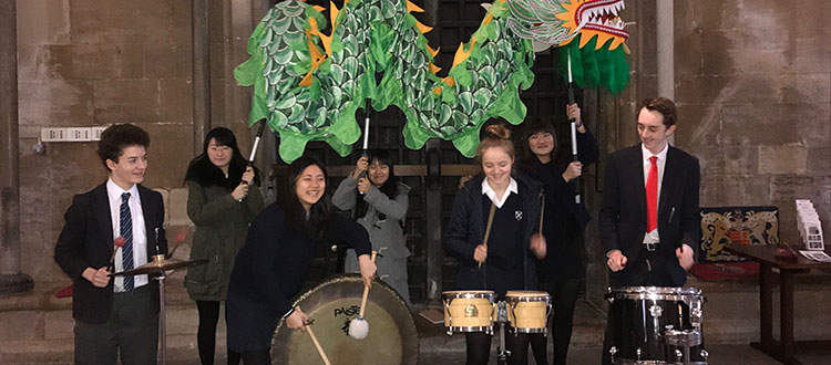 Year of the Rooster Percussion Performance