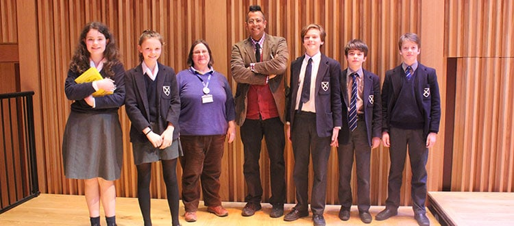 Simon Singh Visits Cedars Hall