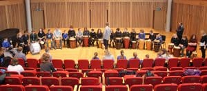 Percussion Workshop in Cedars Hall