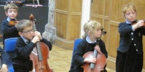 Wells Young Musicians String Orchestra