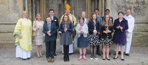 2017 Confirmation Group at Wells Cathedral