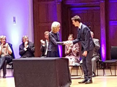 James Buckle, ROSL Music Competition winner