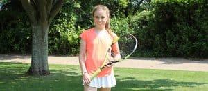 Mimi, U12 Somerset Tennis Player