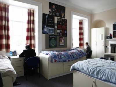 Dorms at our Independent School, also used for Wells Music Summer Camp
