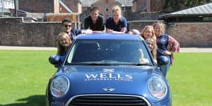 Summer School Staff on the Mini
