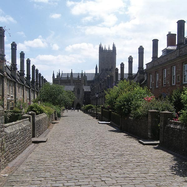 Vicars' Close dates back to the 14th century, and it is the oldest street in Europe with all the buildings intact. You'll find yourself walking along this lovely street to get to and from our Music School!
