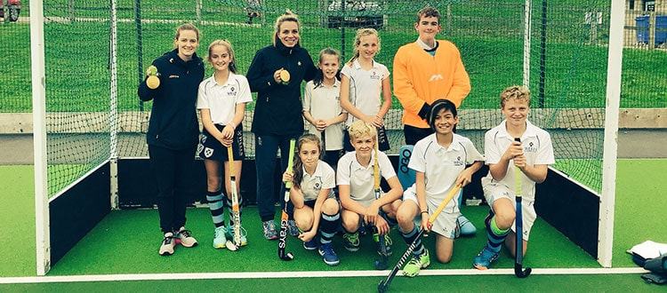 Hockey Masterclass with Helen and Kate Richardson-Walsh and Jamie Cachia