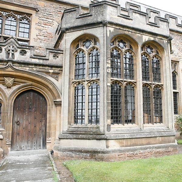 Our Music School with its own concert hall, Quilter Hall, has the appearance of a 15th century great hall, and you'll feel a special type of magic making music within its walls!