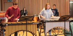 Percussion at Wells Music Summer School