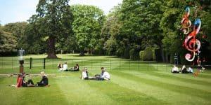 Wells Music Summer School - on the green