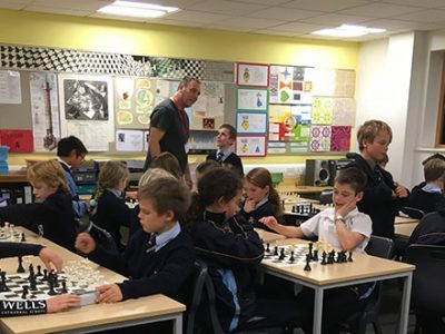 Chess Club at Wells Private Junior School