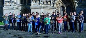 French Horn Day participants