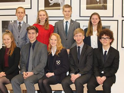 Wells students in NYO 2018