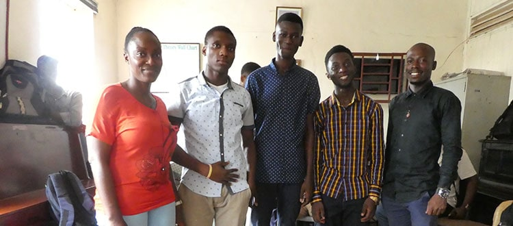 Sierra Leone Bursary Recipients