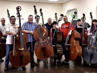 Group performing for Somerset Bass Weekend