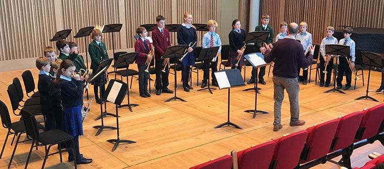 Trumpet Skills Day for Prep Schools