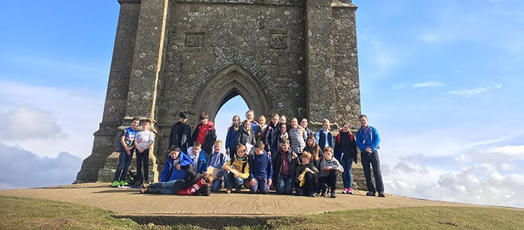 Year 7 Trip to Glastonbury Trip