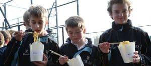 Noodle Bar at Prep School Hockey Tournament
