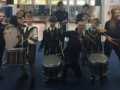 Ferio Percussion Tour to Jersey