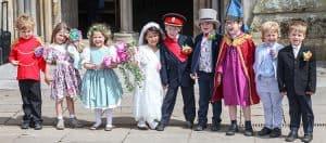 'Royal Wedding' for Wells