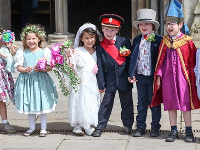'Royal Wedding' for Wells