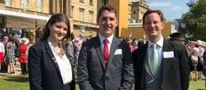 Visit to Buckingham Palace